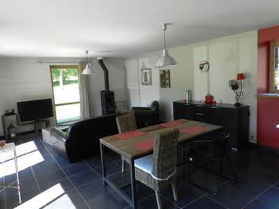 Photo for Vacation home Le Bois Peschard in Quelneuc - 4 persons, 2 bedrooms