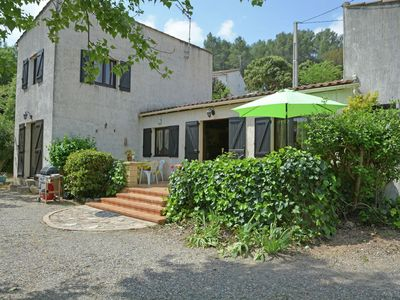 Photo for Detached villa with a large garden 300m from the river Orb fenced.