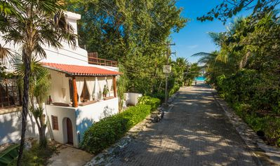Photo for INDEPENDENT VILLA  FOR 14 PEOPLE PRIVATE POOL, 0.03 MI TO THE BEACH