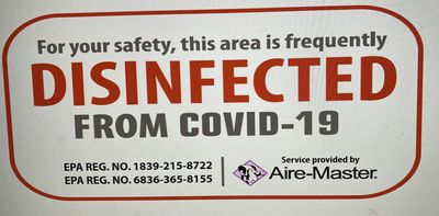Photo for Large Slopeside Condo SAFETY PRECAUTIONS IN USE