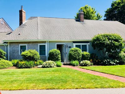 Photo for Beautiful Chatham Condo on Oyster Pond w/ pool, tennis court & spacious grounds
