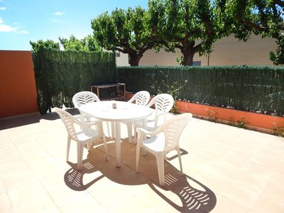 Photo for VILLASCOSETTE-APARTAMENTO RIDAURA BX 2 large private terrace and community pool