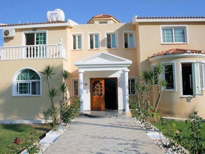 Photo for Situated on a large plot of 2000sqm, Villa Kolikas is a majestic villa with amazing sea views all ar