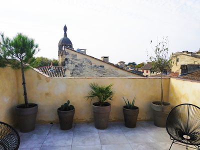 Photo for Last private floor of a mansion: terraces and views