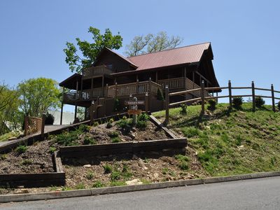 Photo for Eagle's Nest: Luxury Cabin With Views Minutes From The Heart Of Pigeon Forge