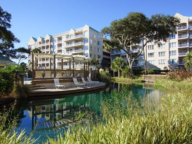 2 Bedroom Ocean Front Villa Located In Palmetto Dunes Hilton Head South Carolina Island Area