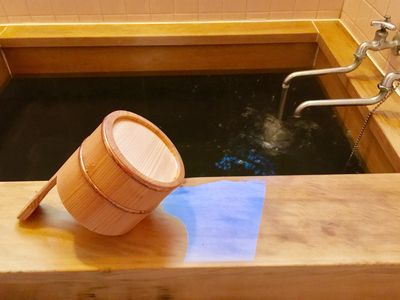 Photo for GT01 Withdrawal hot spring sink hot spring unlimited ★ House home reserved!The river in front of you cures your mind and body.