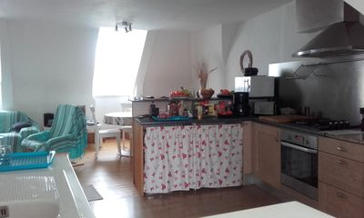 Photo for Very nice apartment of 66 m2, 700 m from the large beach of Saint-Malo