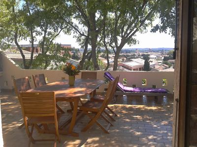 Photo for VILLA SWIMMING POOL TERRACE WITH BEAUTIFUL VIEW, BEACH A 20 MNS