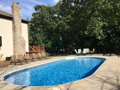 Photo for 6-Bedroom Retreat Perfect for Large Groups w/ Heated Pool