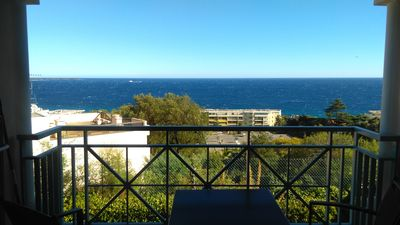 Photo for Apartment with stunning sea views, luxurious complex, 2 pools, tennis court