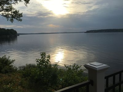 Photo for Perfect Spot for two at Lake Gaston - walking distance to resturant The Point