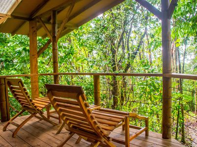 Photo for Cabin Nestled in Private Rainforest Reserve, Jungle Paradise, Waterfalls & More!