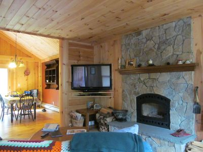 Photo for Comfy Home in the Adirondacks, close to Gore Mnt, hiking & snowmoble trails
