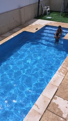 Photo for Townhouse near the beach with large private pool