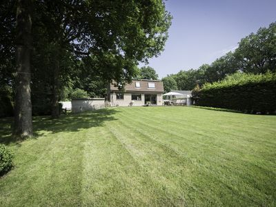 1,000 sqm / 11,000 sq ft of privacy in the woods near Bruges.