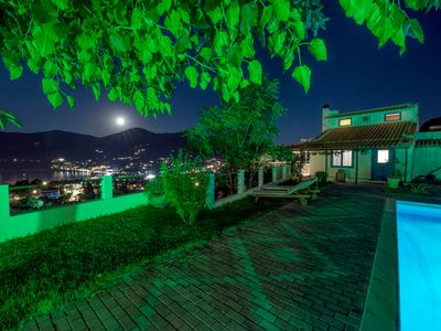 Photo for VILLA CLIO-2klm from SKOPELOS, Amazing SEAVIEW, BBq, 6-9guests, 3BR+2BA, WiFi