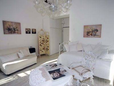 Photo for Luxury beachfront apartment in Menton, just restructured, top position