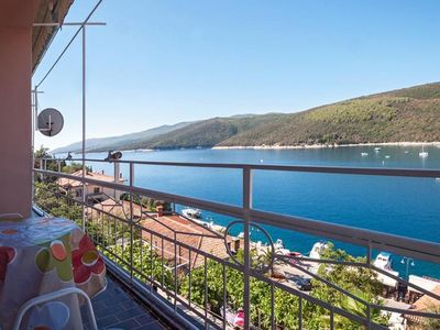 Photo for Beautiful 3rd floor apartment located in the center of Rabac, for 6 people.