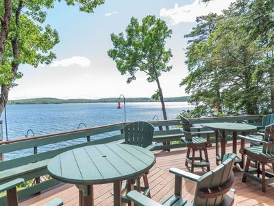 Photo for New Listing / Recently Reduced Rates / Stunning Waterfront Home with Boat Dock