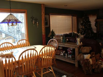 Photo for New Listing - Large Space with a cozy feel. TRULY ski in/out.