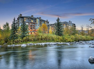 Resort is on the Eagle River