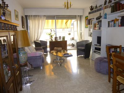 Photo for Vacation rentals 3 Rooms 30m from the beach - Nice West
