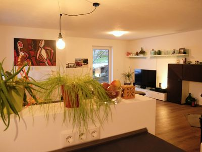 Photo for Apartment to the Danube Island