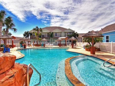 Photo for Brand new 3 bedroom condo in Pirates Bay! Fabulous lagoon pool!