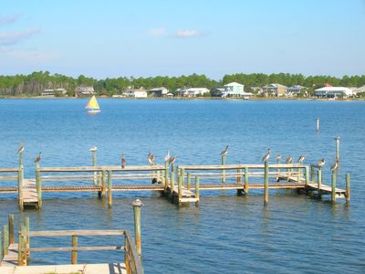 Photo for Sea Oats F106 - Large Lagoon-Front Unit with Stunning Water View, Free Wifi