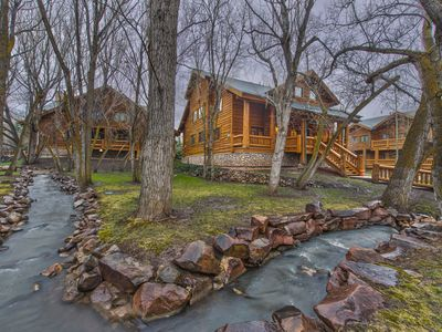 Photo for CDC Approved Cleaning! Resort Side Mountain Cabin - Perfect Family Getaway. Close to Shuttle
