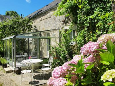 Photo for Vacation home Le Jardin  in Flottemanville, Normandy / Normandie - 2 persons, 1 bedroom