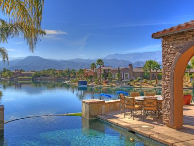 Photo for Luxury Lakefront Retreat in the Desert
