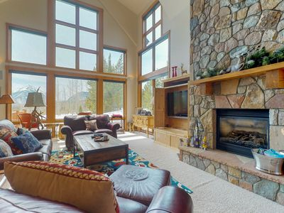 Photo for Enormous house with private hot tub, amazing views & room for everyone