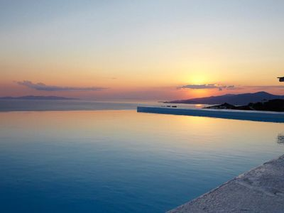 Photo for Villa Star Part of Luxury Villas Mykonos Private Pool 4br 9guests