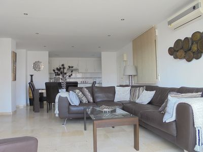 Photo for Wonderful top floor apartment close to Puerto Banus and Marbella