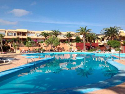 Photo for Beautiful apartment to 300 meters away from the beach with pool, WIFI, sate