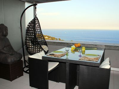 Photo for CAP D'AIL MONACO WIFI SEA VIEW IN A HOLIDAY RESIDENCE