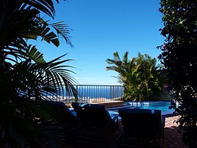 Photo for Villa with Heated Private Pool, Air Conditioning and Stunning Sea Views