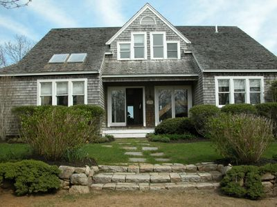 Photo for Beautiful Chilmark home in secluded setting w/ swimming pool
