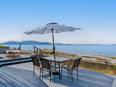 Photo for NEW LISTING! Water front & view home w/ WiFi, deck & shared tennis courts!