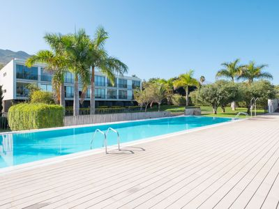 Photo for Duplex Calypso, with shared pool and Wifi