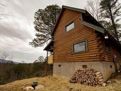 Photo for New Listing! Smoky Mountain Cabin Just Remodeled with a Great View