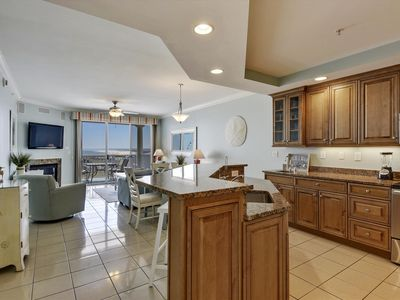 Photo for Steps from Boardwalk - Luxury Condo w/ Wi-Fi, Pool, Fitness - Gr8 Water Views!