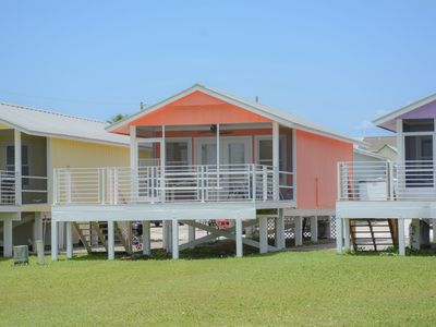 Photo for 2 Bedroom, 1 Bath, Bay front cottage, Pet friendly, Short walk to beach!!!