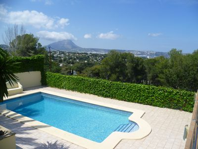 Photo for LUXURY. MODERN. SEA VIEWS. PRIVATE TENNIS COURT. PRIVATE POOL