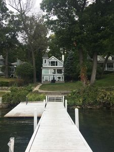 Photo for Beautiful Cottage With New Amenities, lakefront, private pier, and more