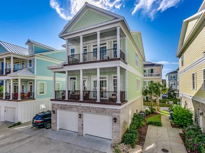"""Photo for """"Paradise Breeze"""" 5 bed Beach House w Game Room & Elevator!"""
