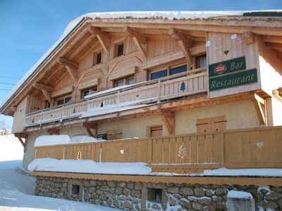 Photo for Exceptional on the slopes in a private chalet, ideal skiers, wifi
