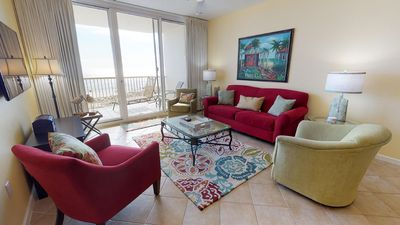 Photo for SEA's the day with this amazing condo on the beach! Catch the waves!